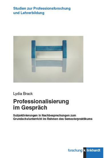 Professionalisierung im Gespräch - Blick ins Buch
