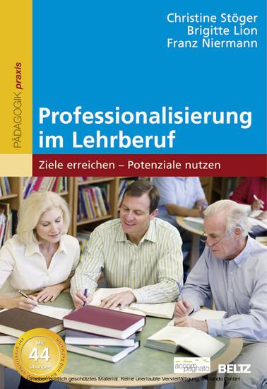Professionalisierung im Lehrberuf - Blick ins Buch