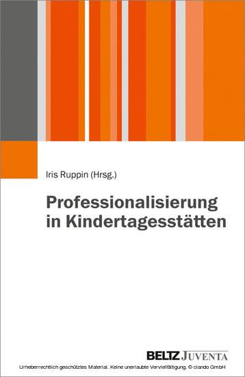 Professionalisierung in Kindertagesstätten - Blick ins Buch