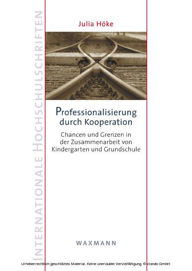 Professionalisierung durch Kooperation - Blick ins Buch