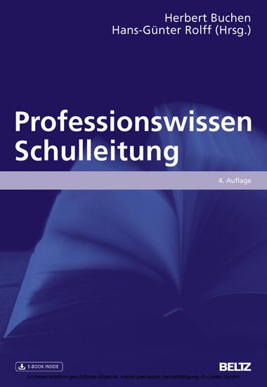Professionswissen Schulleitung - Blick ins Buch