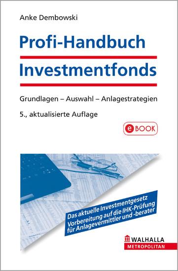 Profi-Handbuch Investmentfonds - Blick ins Buch