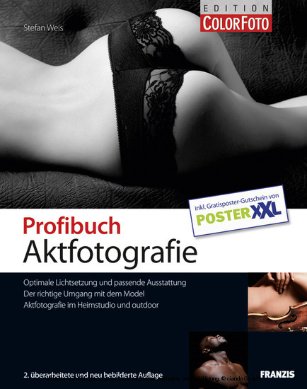 Profibuch Aktfotografie - Blick ins Buch