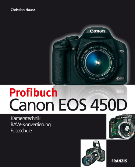 Profibuch Canon EOS 450D - Blick ins Buch