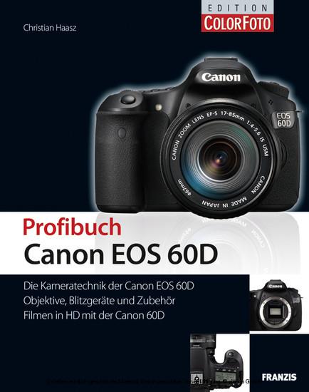 Profibuch Canon EOS 60D - Blick ins Buch