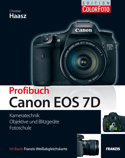 Profibuch Canon EOS 7D - Blick ins Buch