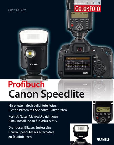 Profibuch Canon Speedlite - Blick ins Buch