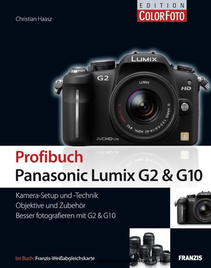 Profibuch Panasonic Lumix G2 & G10 - Blick ins Buch