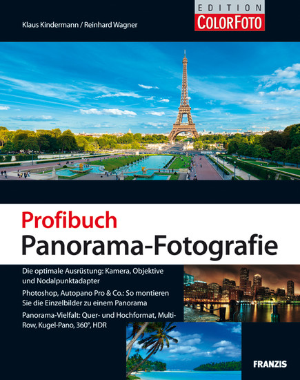 Profibuch Panorama-Fotografie - Blick ins Buch