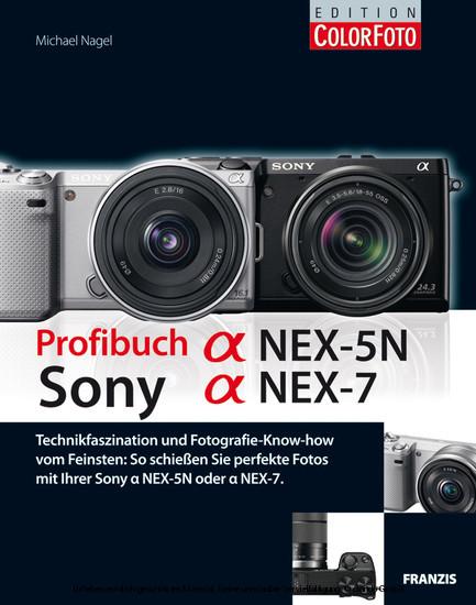 Profibuch Sony Alpha NEX-5N und Alpha NEX-7 - Blick ins Buch