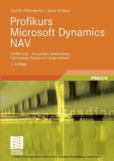 Profikurs Microsoft Dynamics NAV - Blick ins Buch