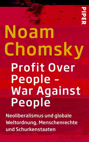 Profit Over People - War Against People - Blick ins Buch