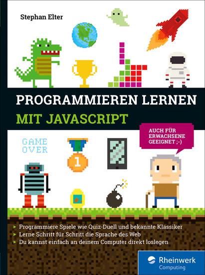 Programmieren lernen mit JavaScript - Blick ins Buch