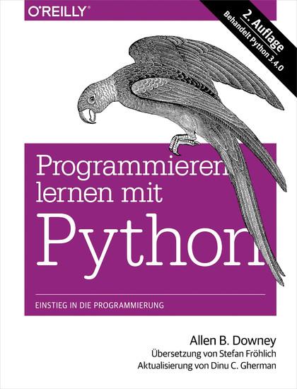 Programmieren lernen mit Python - Blick ins Buch