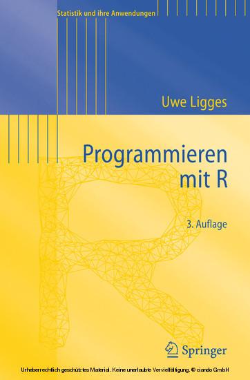 Programmieren mit R - Blick ins Buch