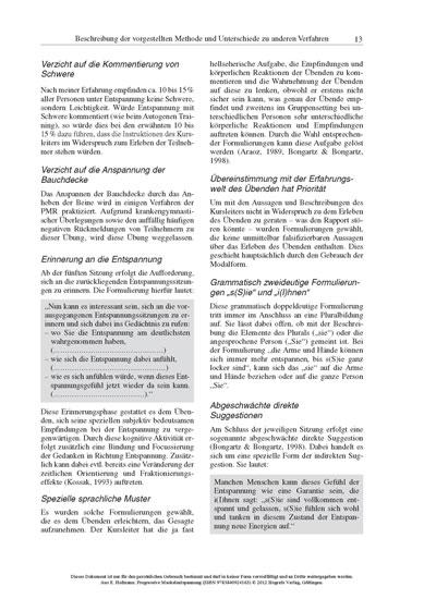 Progressive Muskelentspannung - Blick ins Buch