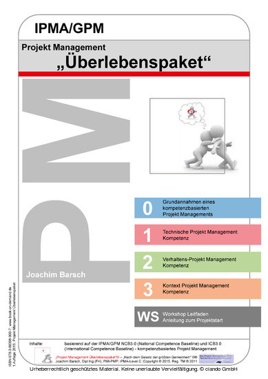 Projekt Management IPMA/GPM Überlebenspaket - Blick ins Buch
