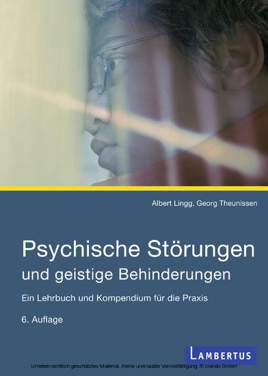 Psychische Störungen und geistige Behinderungen - Blick ins Buch