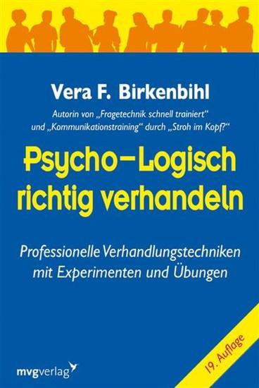 Psycho-logisch richtig verhandeln - Blick ins Buch