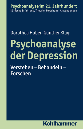 Psychoanalyse der Depression - Blick ins Buch