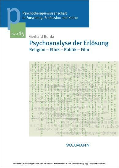 Psychoanalyse der Erlösung - Blick ins Buch