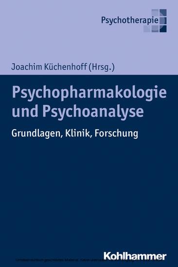 Psychoanalyse und Psychopharmakologie - Blick ins Buch
