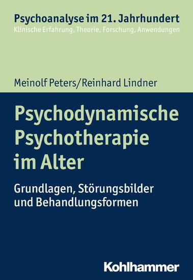 Psychodynamische Psychotherapie im Alter - Blick ins Buch