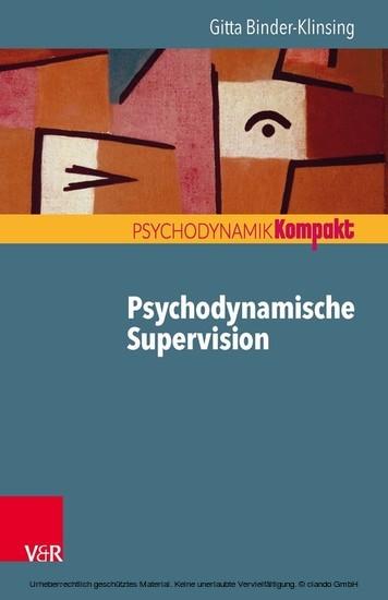Psychodynamische Supervision - Blick ins Buch