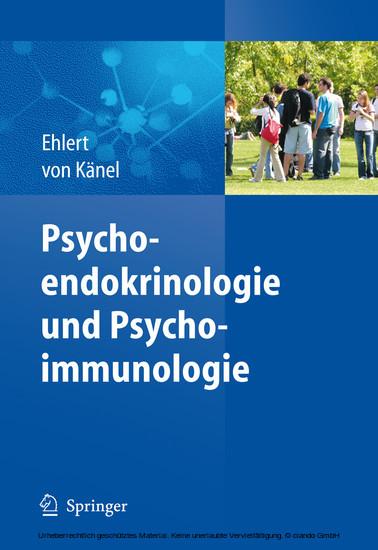 Psychoendokrinologie und Psychoimmunologie - Blick ins Buch