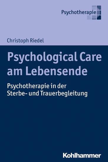 Psychological Care am Lebensende - Blick ins Buch