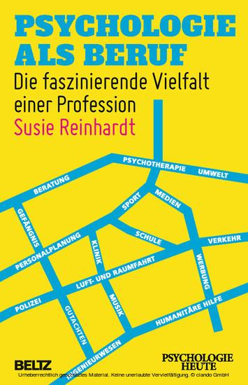 Psychologie als Beruf - Blick ins Buch