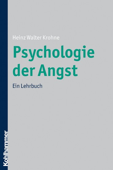 Psychologie der Angst - Blick ins Buch