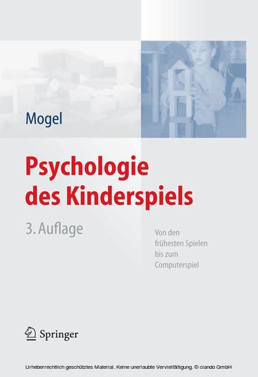 Psychologie des Kinderspiels - Blick ins Buch