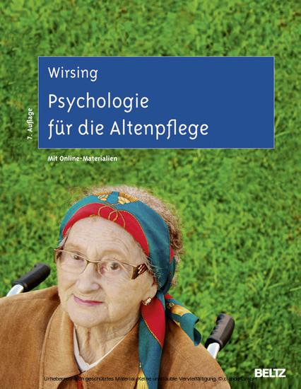 Psychologie für die Altenpflege - Blick ins Buch