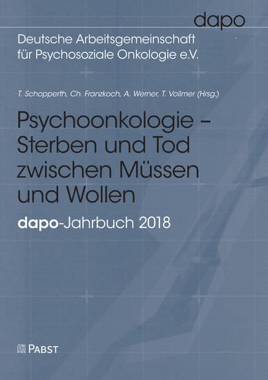 Psychoonkologie - Sterben und Tod zwischen Müssen und Wollen - Blick ins Buch