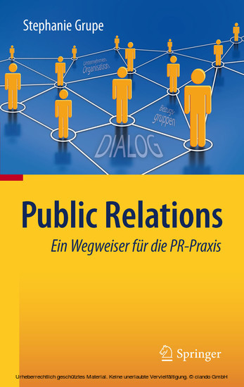 Public Relations - Blick ins Buch
