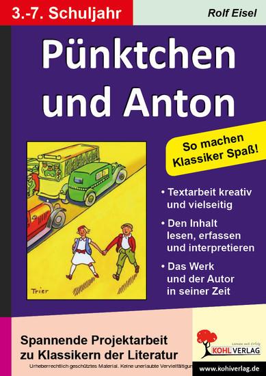 Pünktchen und Anton - Blick ins Buch