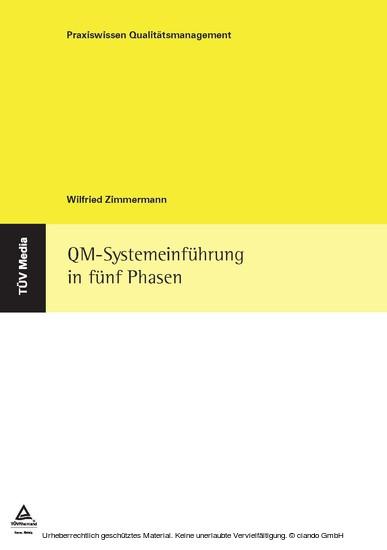 QM-Systemeinführung in fünf Phasen - Blick ins Buch