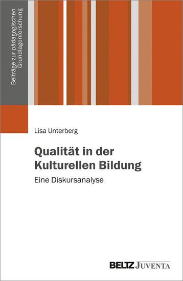 Qualität in der Kulturellen Bildung - Blick ins Buch