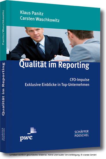 Qualität im Reporting - Blick ins Buch