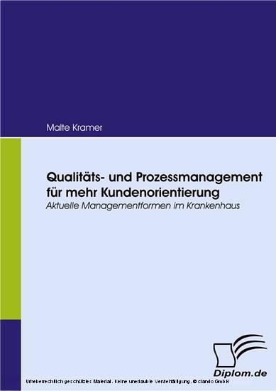 Qualitäts- und Prozessmanagement für mehr Kundenorientierung - Blick ins Buch