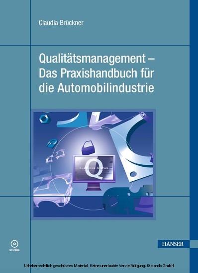 Qualitätsmanagement - Das Praxishandbuch für die Automobilindustrie - Blick ins Buch