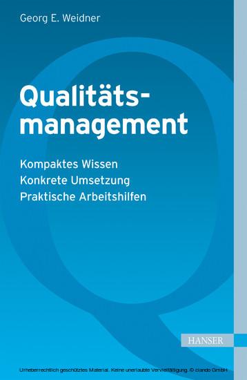 Qualitätsmanagement - Blick ins Buch