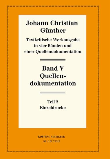 Quellendokumentation - Blick ins Buch