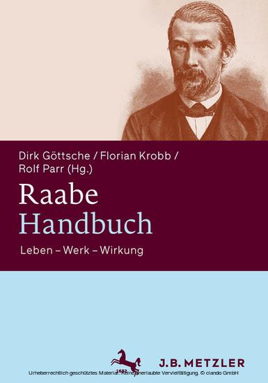 Raabe-Handbuch - Blick ins Buch