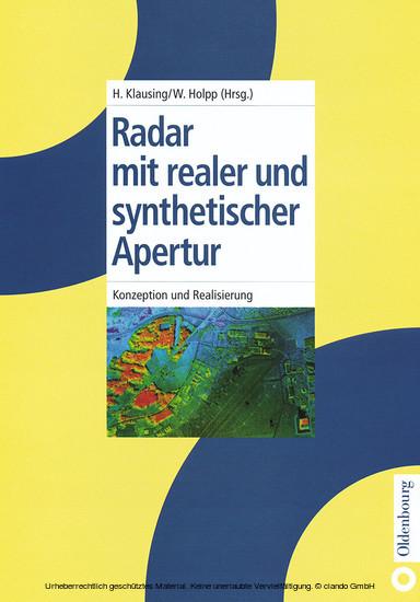 Radar mit realer und synthetischer Apertur - Blick ins Buch