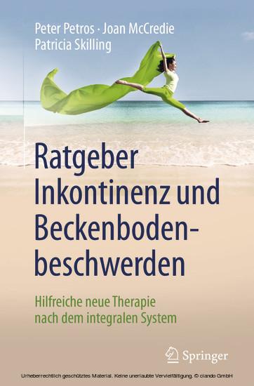 Ratgeber Inkontinenz und Beckenbodenbeschwerden - Blick ins Buch