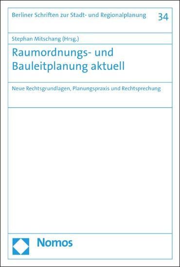 Raumordnungs- und Bauleitplanung aktuell - Blick ins Buch