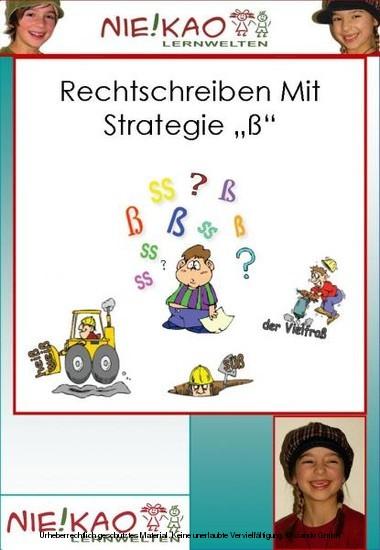 Rechtschreiben mit Strategie - ß für die Klassen 2-4 - Blick ins Buch