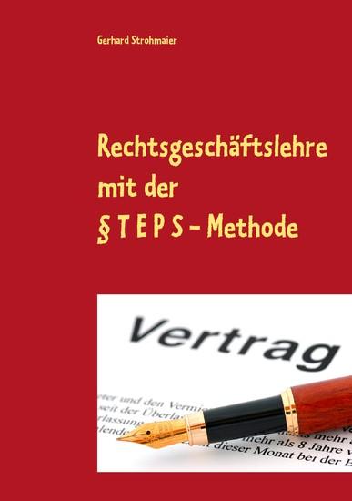 Rechtsgeschäftslehre - Blick ins Buch